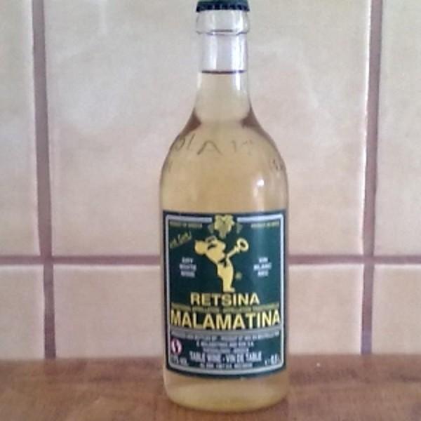MALAMATINA Rétsiné - 50 cl