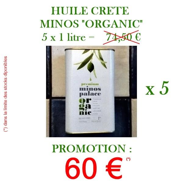 Huile 0.3 Messara ORGANIC 1 Litre